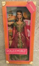 MOROCCO DOLLS OF THE WORLD DOTW PASSPORT BARBIE DOLL X8425 2012 MINT NRFB