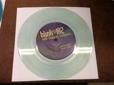 "Blink-182 They Came To Conquer Uranus CLEAR BLUE WATER VINYL 7"" Record! non lp!+"
