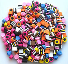 Al Por Mayor 500 medio mixto Fimo Bertie Bassett-Regaliz allsorts Beads