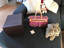 Louis Vuitton Denim NEO Speedy 30 Fuchsia Traum !