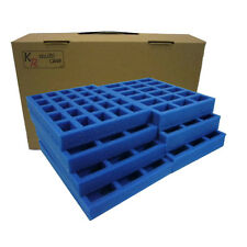 KR Multicase FoW Flames of war case & foam trays, carry 133 bases/vehicles ~FW3