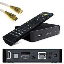 Mag 254 IPTV SET TOP BOX Multimedia player Internet TV Console USB + Cavo HDMI