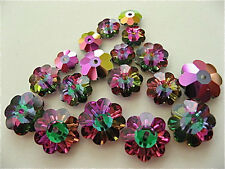 Crystal Electra Swarovski Margarita Beads 3700 6mm 8mm 10mm 6 Pieces Each Size