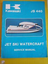 KAWASAKI JET SKI JS 440 SERVICE MANUAL ANNO 1980