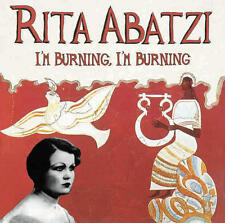 Rita Abatzi - I'm Burning, I'm Burning LP NEW Greek singer, 1930's recordings