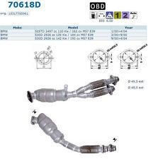 Pot catalytique Bmw 530D 184cv M57 E39 3/00 9/00, antérieur autom OFFRE USINE