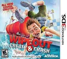 NINTENDO 3DS DS GAME WIPEOUT CREATE & CRASH BRAND NEW & SEALED