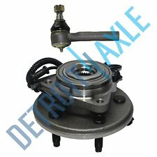 NEW Front Wheel Hub & Bearing Assembly 2WD 4x4 + Outer Tie Rod End Ford Lincoln
