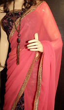 New Style Designer Saree With Latest Border with Blouse On Discount Price( H-H)
