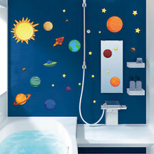 Baby Home Decor Stickers Decal ART Galaxy Planet Space Removable Wall Art