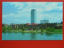 POSTCARD USA BOSTON PRUDENTIAL TOWER & SHERATON BOSTON HOTEL