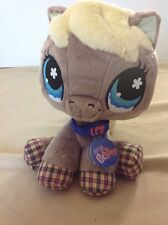 Hasbro Littlest Pet Shop LPS HORSE SEALED CODE Plush Stuffed