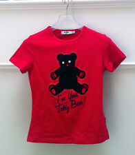 Moschino Chic adorable sexy lovely Teddy bear Tee Top *List will ends in 6 days