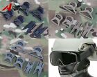 Tactical Goggle Swivel Clips for Fast Helmet Rails Airsoft Military Outdoor