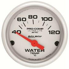 "Auto Meter 4337-M Gauge; Water Temp; 2 1/16""; 40-120ºC; Electric; Ultra-Lite"
