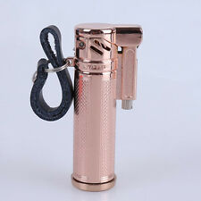 Vintage Kirsite Coat Trench Lighter WW2 Kerosene Lighter Oil Lighter Gold Cool!