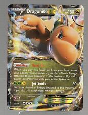 Pokemon Holo Foil JUMBO OVERSIZE DRAGONITE EX Card 180 HP 74/111 PROMO