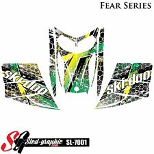 SLED WRAP DECAL STICKER GRAPHICS KIT FOR SKI-DOO REV MXZ SNOWMOBILE 03-07 SL7001