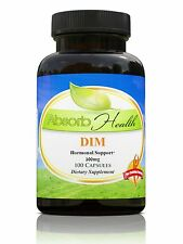 DIM Diindolylmethane 100mg 100 Capsules Estrogen Balance Supplement