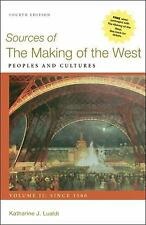 Sources of the Making of the West, Vol. II: Since 1500:Peoples and Cultures-4th