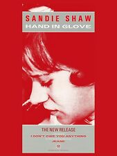 "The Smiths HAND IN GLOVE SANDIE 16"" x 12"" Photo Repro Promo  Poster"
