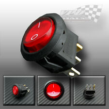 ON/OFF ILLUMINATION ROCKER SWITCH 12v 12 VOLTS 10amp DC DASHBOARD PANAL LIGHTING