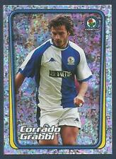 MERLIN-2002-F.A.PREMIER LEAGUE- #209-BLACKBURN-JUVENTUS-CORRADO GRABBI-FOIL