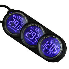 New Digital LCD Indoor/Outdoor Thermometer Hygrometer Meter Temperature Humidity
