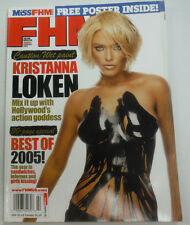 FHM Magazine Kristanna Loken & Swimsuits February 2006 NO ML 070615R2