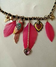 Betsey Johnson Rio Necklace RETIRED (RARE)