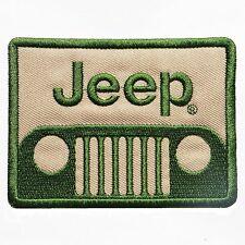 JEEP LOGO IRON-ON PATCH 4x4, offroad