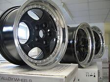 4 neue Alu Keskin KT2 black 8,5 und 9,5x18 Porsche 911, 996 Carrera 2
