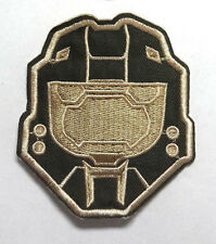 "HALO Master Chief Helmet Logo 3.5"" Embroidered Patch- FREE S&H (HLPA-002)"