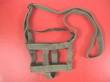 WWII Japanese Type 94 Canteen Canvas Carrier w/Leather Stopper Strap - Repro