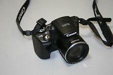 Canon SX500 IS 16MP 30X Zoom Digital Camera PC1818 Works
