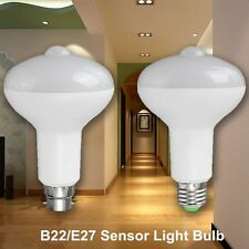 E27 B22 12W PIR Infrared Body Induction Light Sensor Detection LED Corridor Bulb