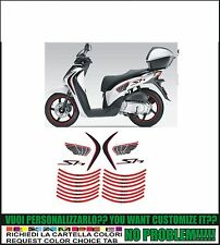 kit adesivi stickers compatibili sh 125i 150i 300i formanu