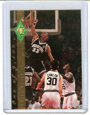 ALONZO MOURNING CLASSIC DRAFT PICK FOUR SPORT GOLD #319,1 OF 9500