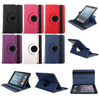 360 Rotating Swivel Smart Leather Flip Stand Case Cover For iPad 2 3/4 Air /Mini