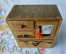Topsy - Vintage Japanese Style Jewellery Cabinet