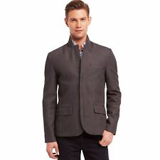 Kenneth Cole Reaction Slim-Fit Blazer Dim Grey Mens Medium New