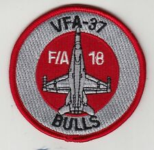 VFA-37 RAGIN' BULLS F/A-18 SHOULDER PATCH
