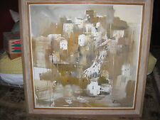 EXTRA LARGE Original Signed Painting By GINO F. HOLLANDER,