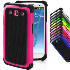 Shockproof Hybrid Impact Rubber Hard Case Cover For Samsung Galaxy S3 III i9300