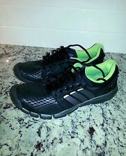 Adidas Adipure trainer black Running Shoes Fitness Gym Trainers women's size 9
