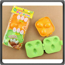 Japanese Plastic Bear Bunny Dog Shapes Quail Egg Mold for Bento Box
