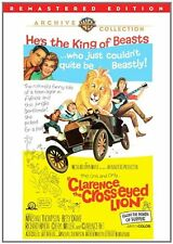 CLARENCE THE CROSS-EYED LION (1965)  - Region Free DVD - Sealed
