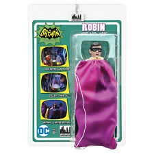 Batman 66 Classic TV Show Mego Style 8 Inch Figures: Robin In Purple Bag