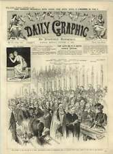 1891 Funeral Of Mr Wh Smith Westminster Abbey