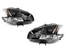DEPO BLACK HOUSING PROJECTOR HALOGEN HEADLIGHTS FIT FOR 2009-2011 NISSAN MAXIMA